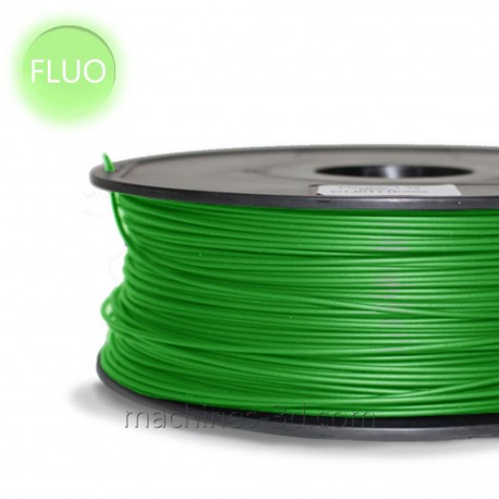 Filament PLA 1kg 1,75mm Vert Fluo