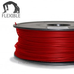 Filament ABS 1kg 1,75mm Flexible Rouge