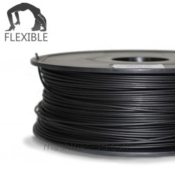 Filament ABS 1kg 1,75mm Flexible Noir