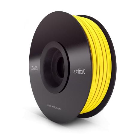 Filament ABS 1kg 1,75mm ZORTRAX Jaune