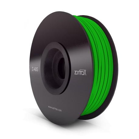 Filament ABS 1kg 1,75mm ZORTRAX Vert
