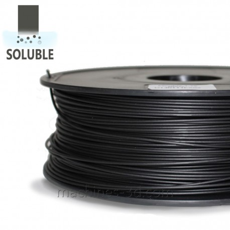 Filament HIPS 1kg 1,75mm Noir