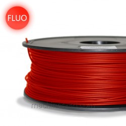 Filament ABS 1kg 1,75mm Rouge Fluo