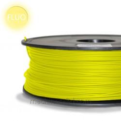 Filament ABS 1kg 1,75mm Jaune Fluo