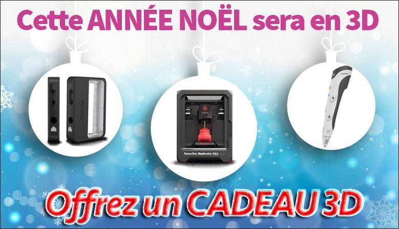 Imprimante3D pour Noel